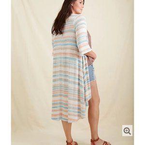 Torrid Multi Stripe Kimono Cardigan